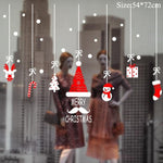 Load image into Gallery viewer, Christmas Window Stickers Christmas Decorations for Home Hopikas 08