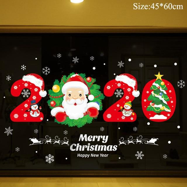 Christmas Window Stickers Christmas Decorations for Home Hopikas 22
