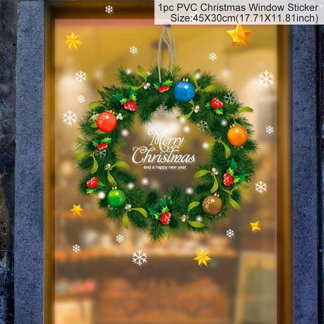 Christmas Window Stickers Christmas Decorations for Home Hopikas 25