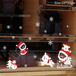 Load image into Gallery viewer, Christmas Window Stickers Christmas Decorations for Home Hopikas 28