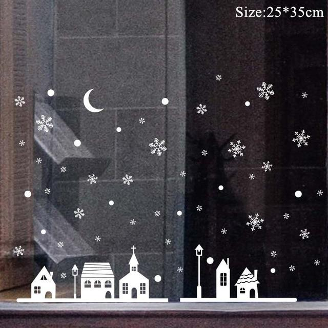 Christmas Window Stickers Christmas Decorations for Home Hopikas 33