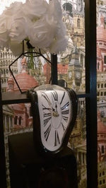 Load image into Gallery viewer, Clock in the style of works by Salvador Dali Hopikas