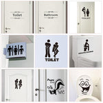 Load image into Gallery viewer, Creative Toilet Stickers Hopikas