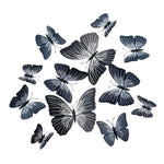 Load image into Gallery viewer, Cute Butterflies Wall stickers art Decals Home Decoration Hopikas Black