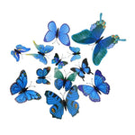 Load image into Gallery viewer, Cute Butterflies Wall stickers art Decals Home Decoration Hopikas Blue-1