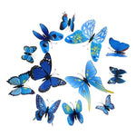 Load image into Gallery viewer, Cute Butterflies Wall stickers art Decals Home Decoration Hopikas Blue-2