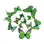 Load image into Gallery viewer, Cute Butterflies Wall stickers art Decals Home Decoration Hopikas Green-1