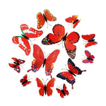 Load image into Gallery viewer, Cute Butterflies Wall stickers art Decals Home Decoration Hopikas Red-1