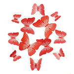 Load image into Gallery viewer, Cute Butterflies Wall stickers art Decals Home Decoration Hopikas Red-3