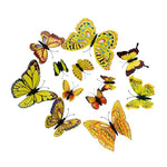 Load image into Gallery viewer, Cute Butterflies Wall stickers art Decals Home Decoration Hopikas Yellow-1