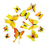 Load image into Gallery viewer, Cute Butterflies Wall stickers art Decals Home Decoration Hopikas Yellow-2
