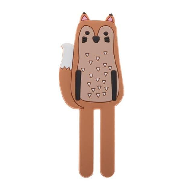 Cute Magnetic Hooks | Removable Fridge Sticker Refrigerator Hopikas Fox