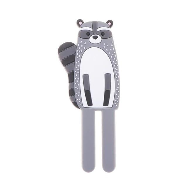 Cute Magnetic Hooks | Removable Fridge Sticker Refrigerator Hopikas Raccoon