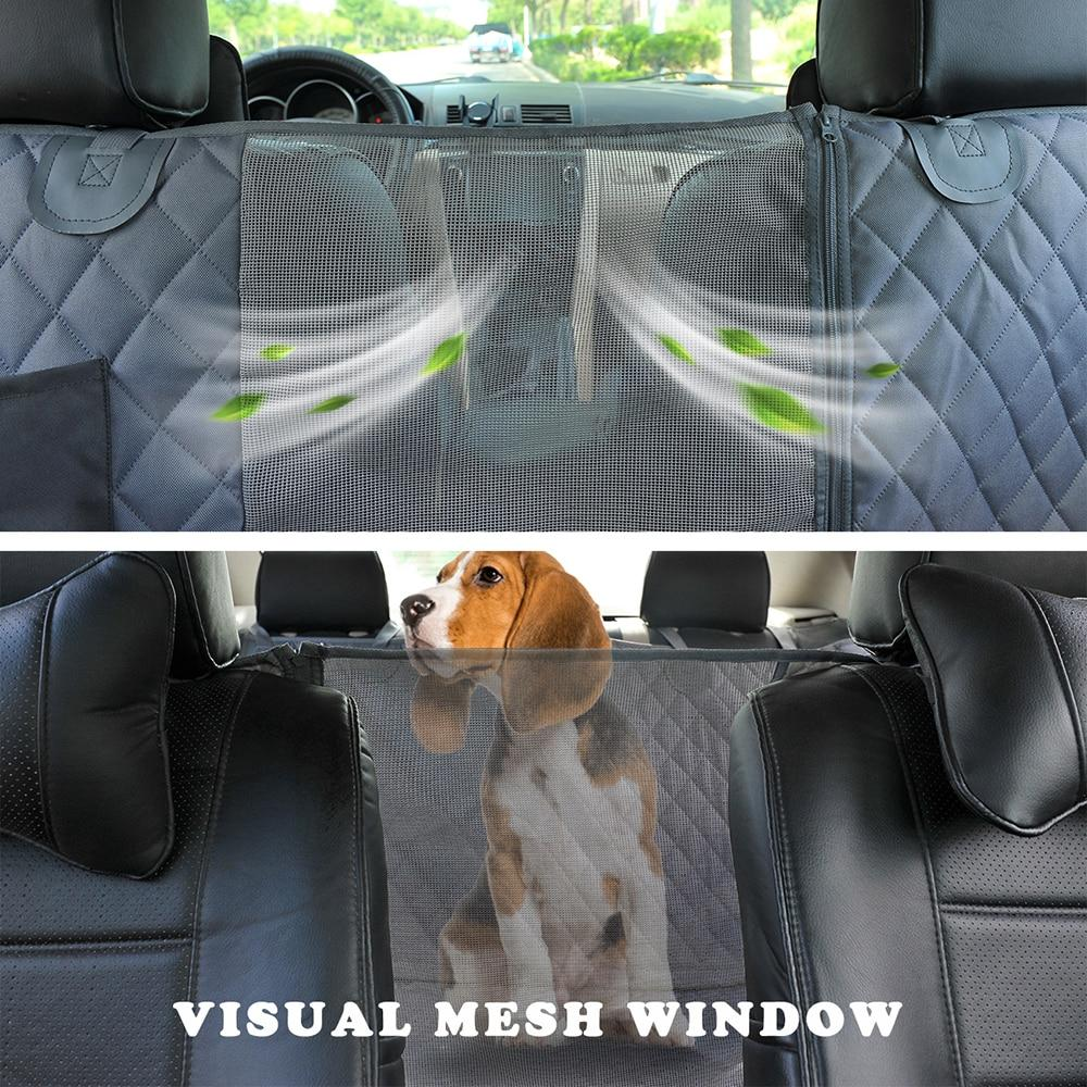 Dog Car Seat Cover Waterproof Pet Hopikas
