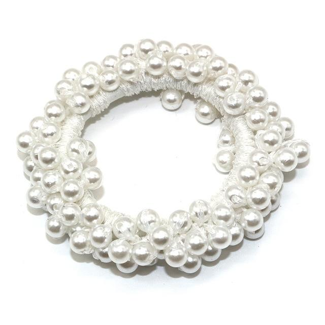 Elastic Pearl Hair Ties Hair Ties Hopikas color 6
