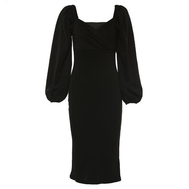 Elegant dress Hopikas black S