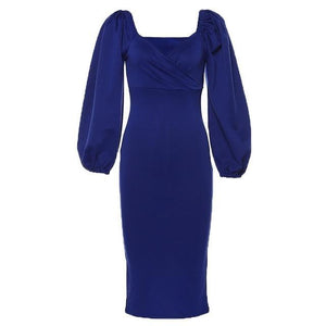 Elegant dress Hopikas blue S