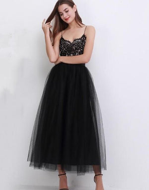 Elegant tutu skirt Hopikas black One Size
