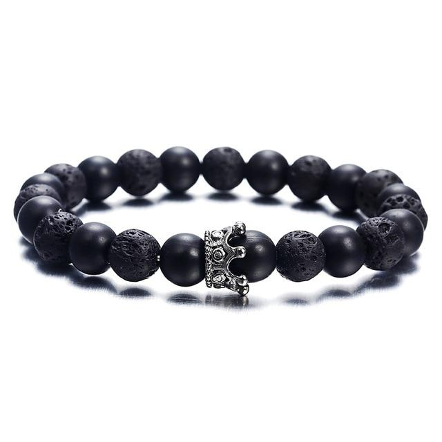 Fashion Beaded Bracelets Hopikas NS74 Black
