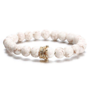 Fashion Beaded Bracelets Hopikas NS74 WHITE