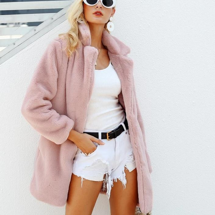 Faux Fur Coat Hopikas