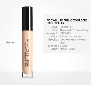 Full Coverage Makeup Liquid Concealer Hopikas
