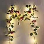 Load image into Gallery viewer, Garland for decoration for home and garden for Christmas Hopikas