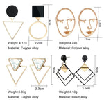 Load image into Gallery viewer, Geometric Earring Hopikas