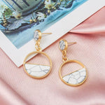 Load image into Gallery viewer, Geometric Earring Hopikas Gold 12
