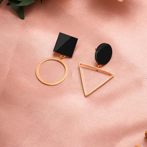 Geometric Earring Hopikas Gold