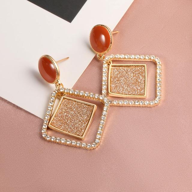 Geometric Earring Hopikas Gold 5