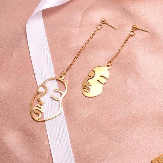 Geometric Earring Hopikas Gold 6