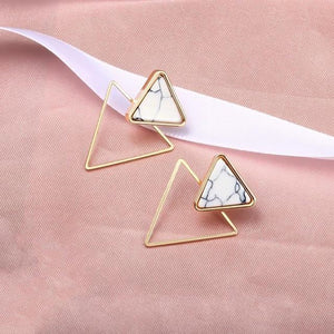Geometric Earring Hopikas Gold 7