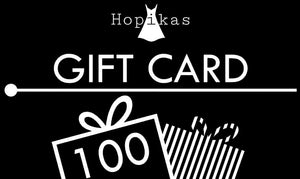 Gift Card Gift Card Hopikas $100.00