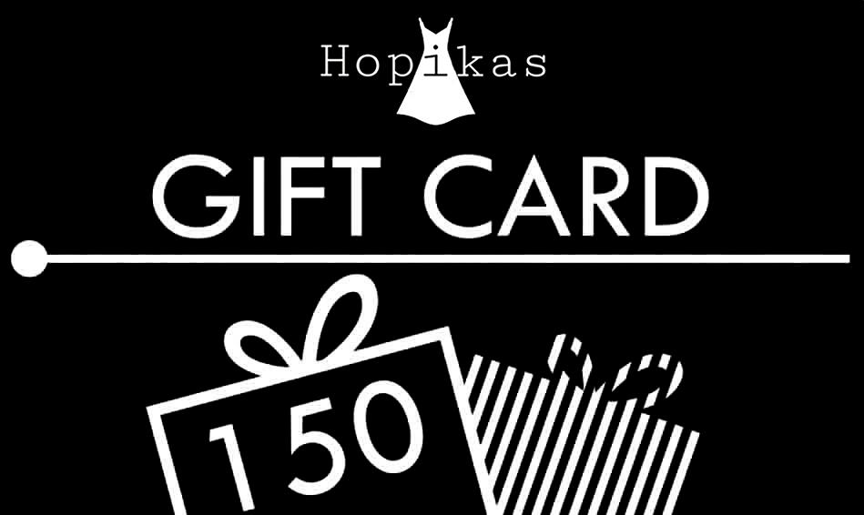 Gift Card Gift Card Hopikas $150.00