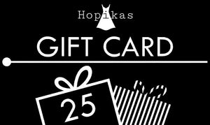 Gift Card Gift Card Hopikas $25.00