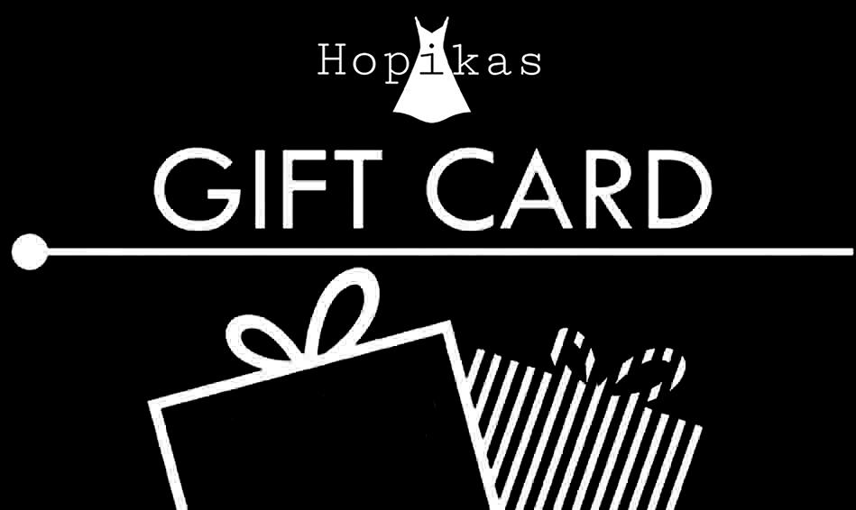 Gift Card Gift Card Hopikas