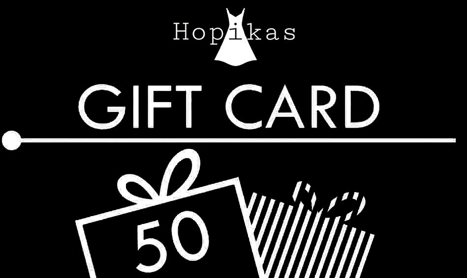 Gift Card Gift Card Hopikas $50.00