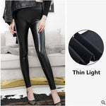 Load image into Gallery viewer, High Waist Leather Leggings for Women Hopikas Thin Light XXL