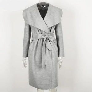 Long Coat Women Hopikas Gray S