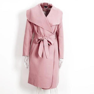 Long Coat Women Hopikas Pink S