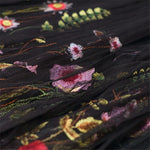 long Skirt Floral Embroidery Hopikas