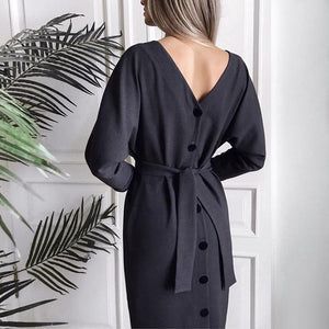Long Sleeve Dresses Hopikas