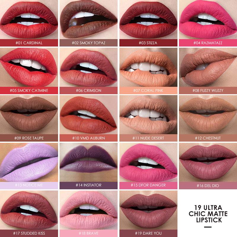 Matte Lipsticks Waterproof Hopikas