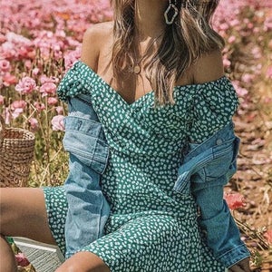 Off Shoulder Summer Dress Hopikas