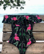 Load image into Gallery viewer, Off The Shoulder Swimwear Hopikas 16 S