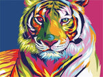 Load image into Gallery viewer, Paints By Numbers Colorful Animals Pictures Hopikas Tiger