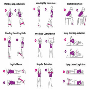 Resistance Band Workout Hopikas
