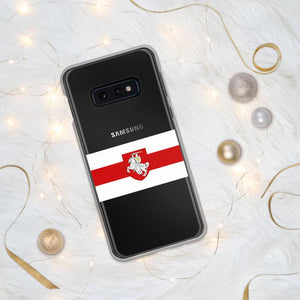 "Samsung Case Flag of Belarus with coat of arms ""Chase"" Hopikas Samsung Galaxy S10e"