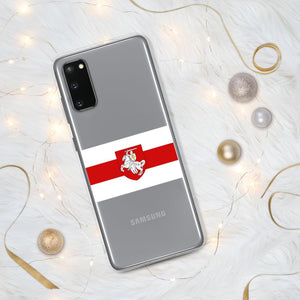 "Samsung Case Flag of Belarus with coat of arms ""Chase"" Hopikas Samsung Galaxy S20"